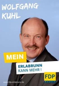 Bürgermeisterkandidat Wolfgang Kuhl